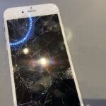 iPhone6Sの画面交換!