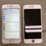 iPhone8の画面修理承りました!