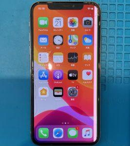 iPhoneX画面割れ液晶破損