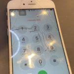 iPhone6S 画面のヒビは30分でなくせます!