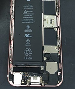 iPhoneに満タンの充電を!